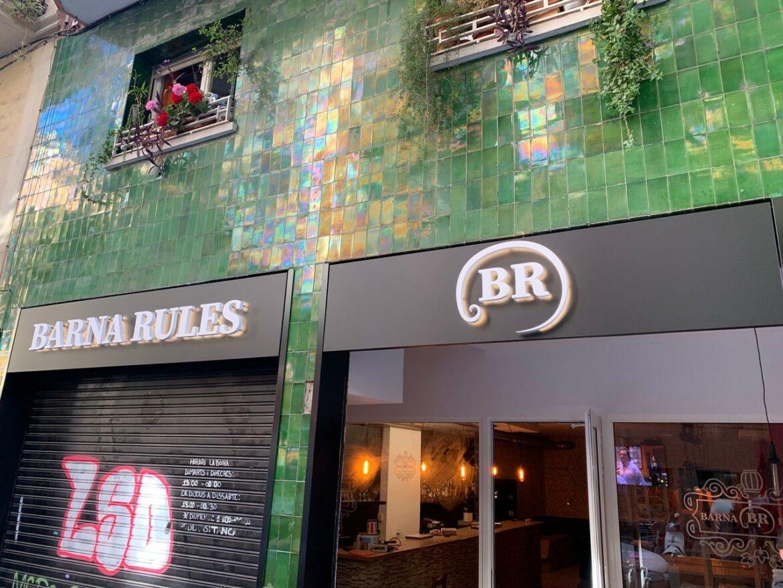 rótulo luminoso, letras corpóreas, rótulos corpóreos, rotulos barcelona