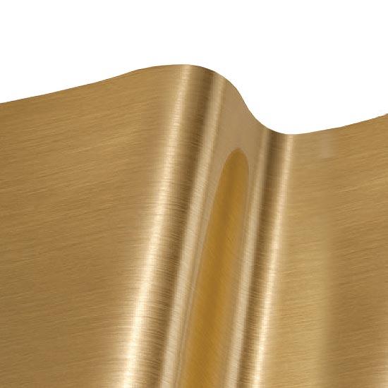 Vinilo efecto metalizado oro