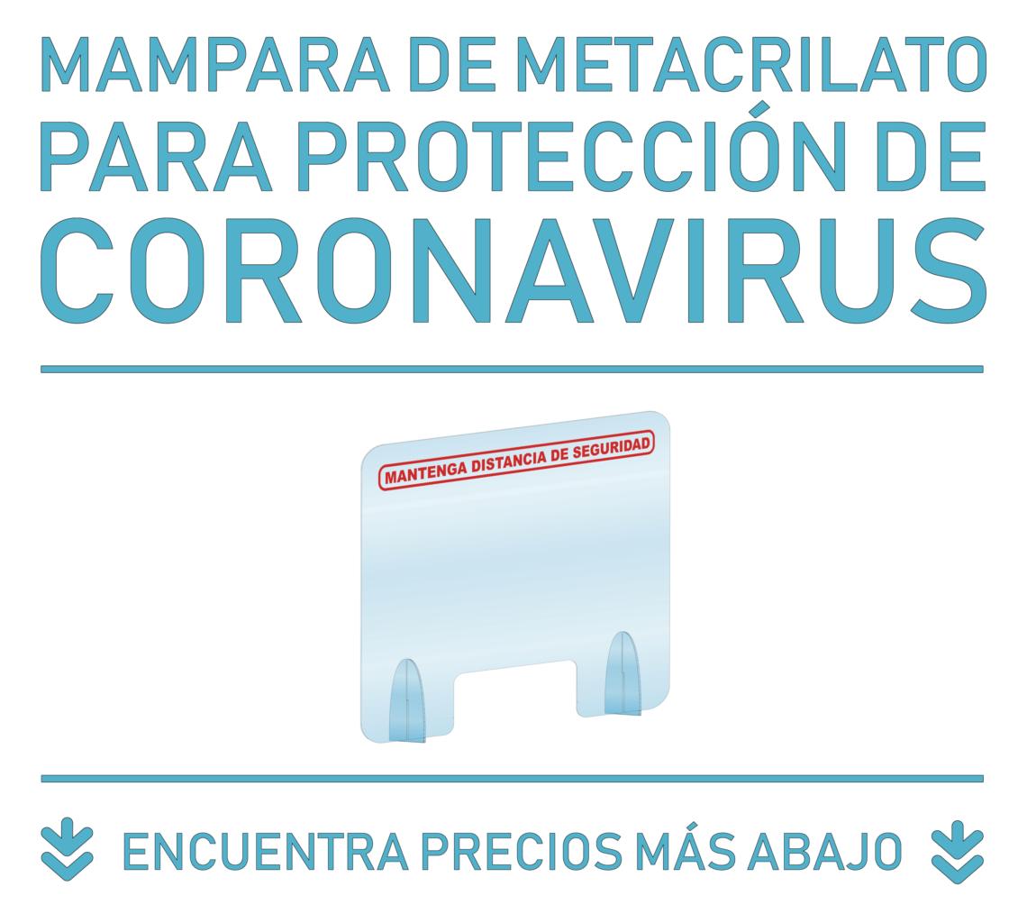 mamparas coronavirus