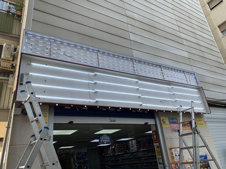Caja de luz LED